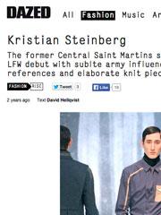 Kristian Steinberg – Dazed Digital